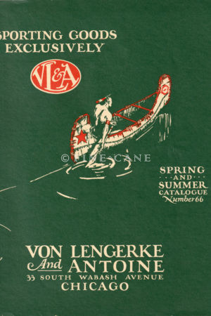 1925 VL&A Catalog Cover