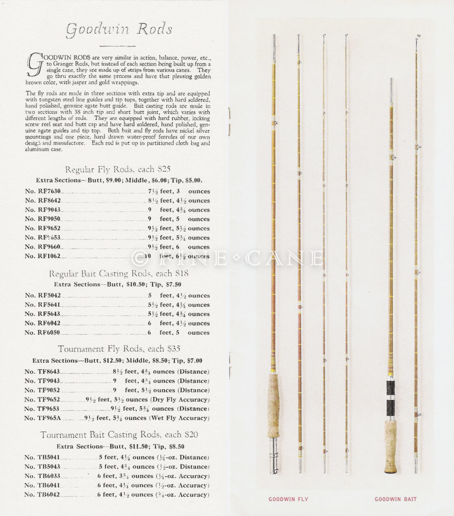 1927 Goodwin Granger Catalog Goodwin Rods