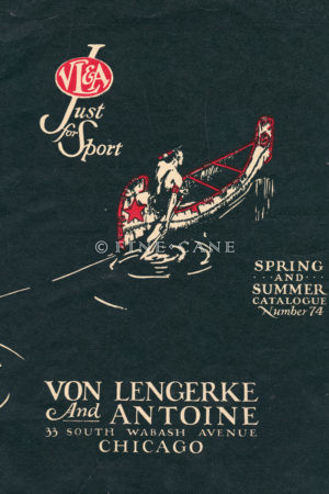 1929 VL&A Catalog Cover