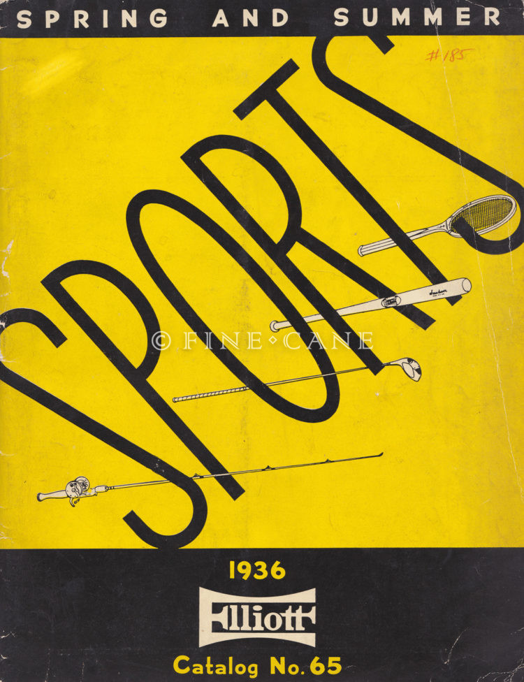 1936 Elliot Sports Catalog Cover