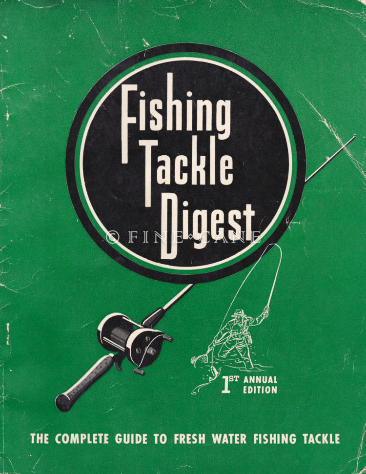 1946 Fishing Tackle Digest Cover