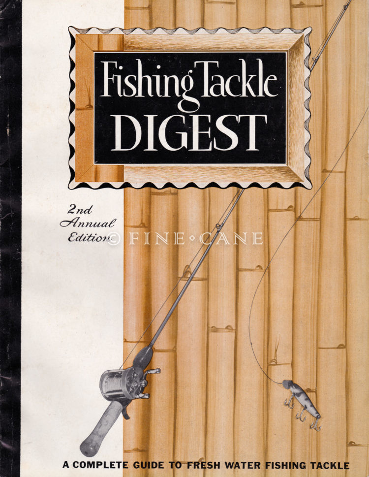 1949 Fishing Tackle Digest Cover