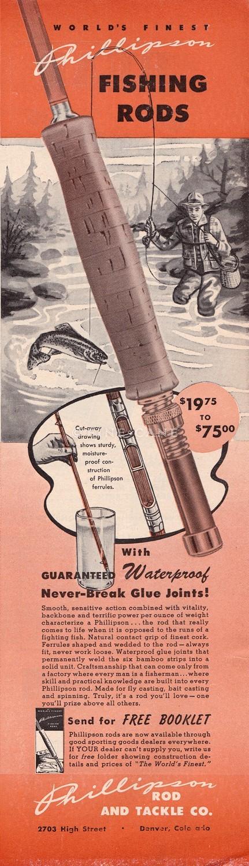 April 1949 Field & Stream Ad