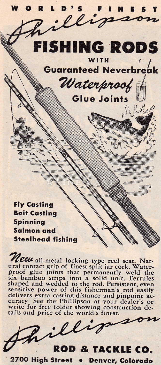 June 1950 Outdoor Life Ad