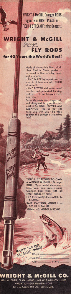 1950 March Field & Stream Ad