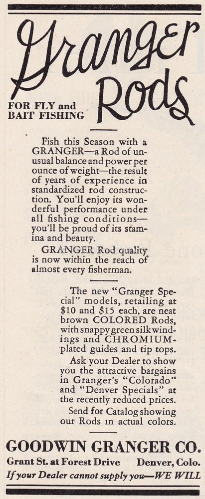 April 1930 Field & Stream Ad
