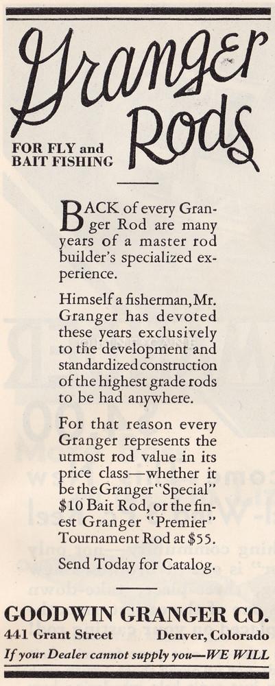 March 1931 Field & Stream Ad