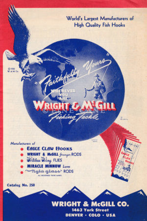 1950 Wright McGill Catalog Cover