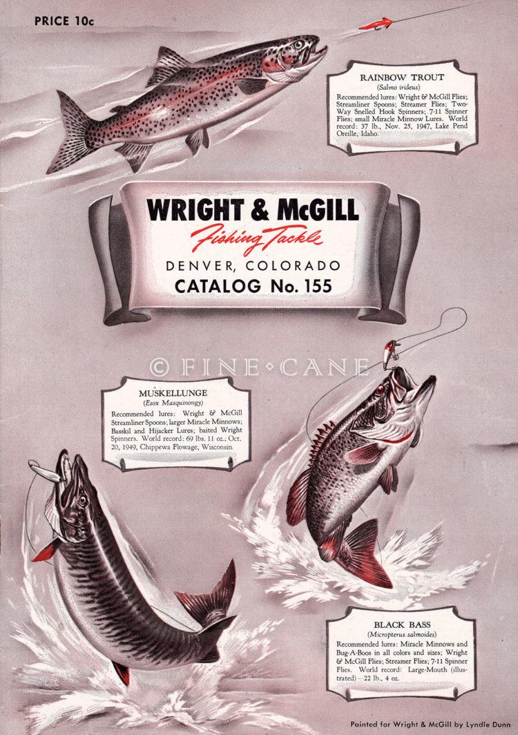 1951 Wright McGill Catalog Cover