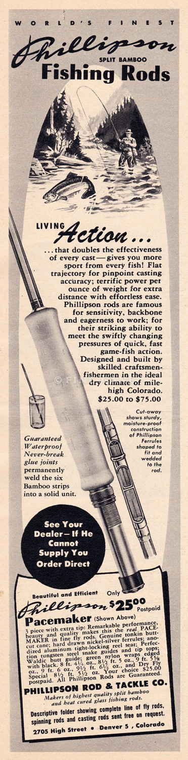 1952 Sports Afield Fishing Annual Ad