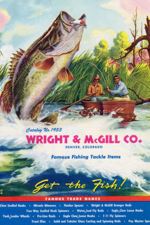 1953 Wright McGill Catalog Cover