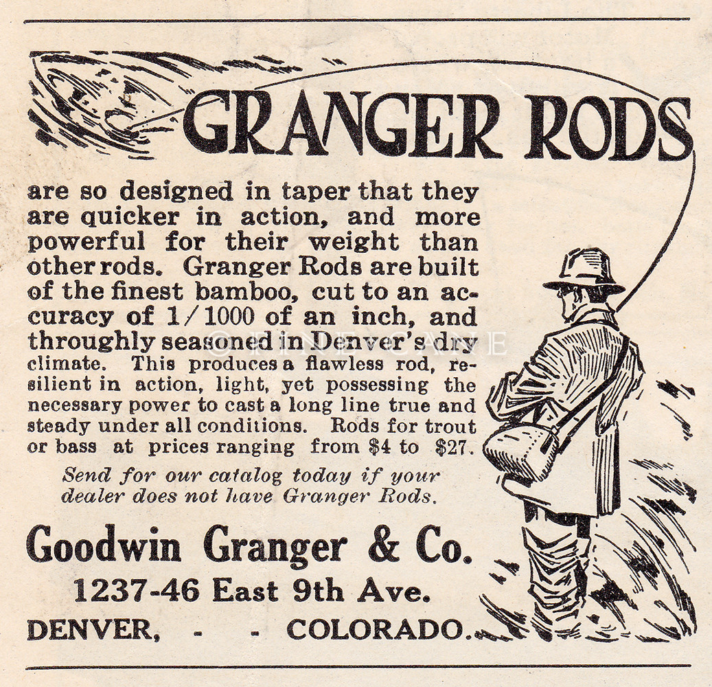 April 1919 Outdoor Life - First Granger Ad
