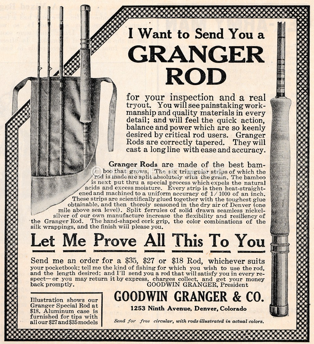 April 1921 Outdoor Life Ad