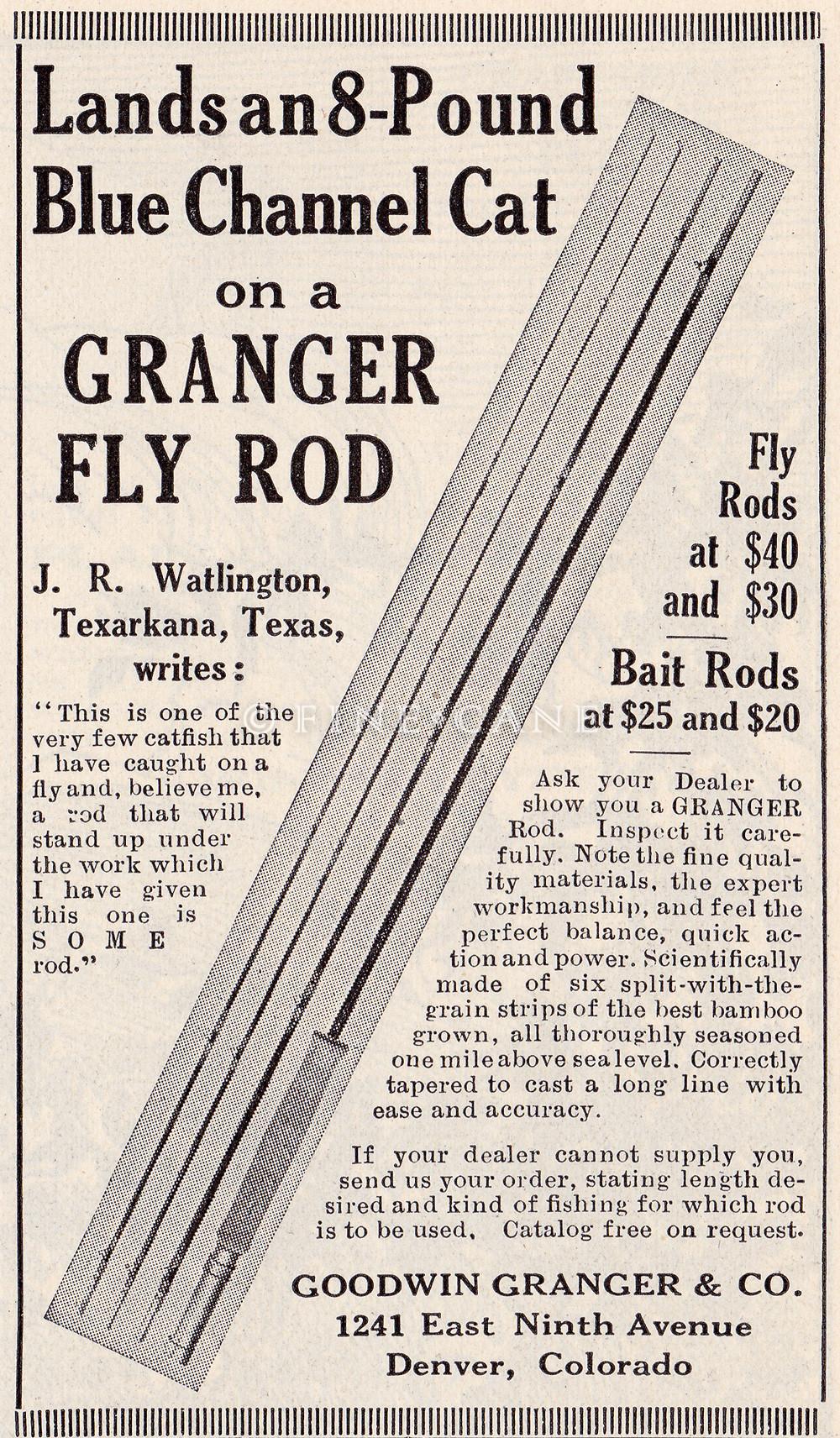 April 1923 Field & Stream Ad