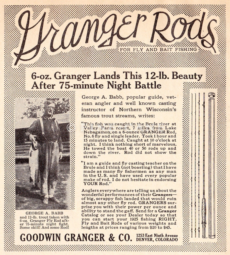 March 1925 Outdoor Life Ad