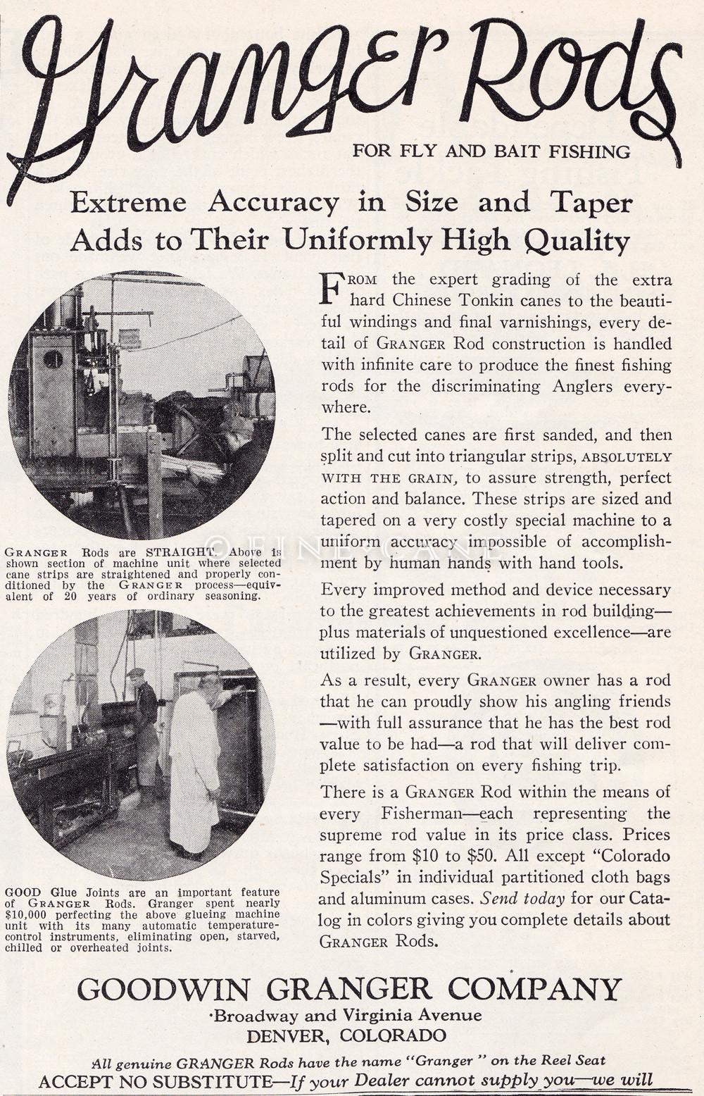 March 1928 Field & Stream Ad