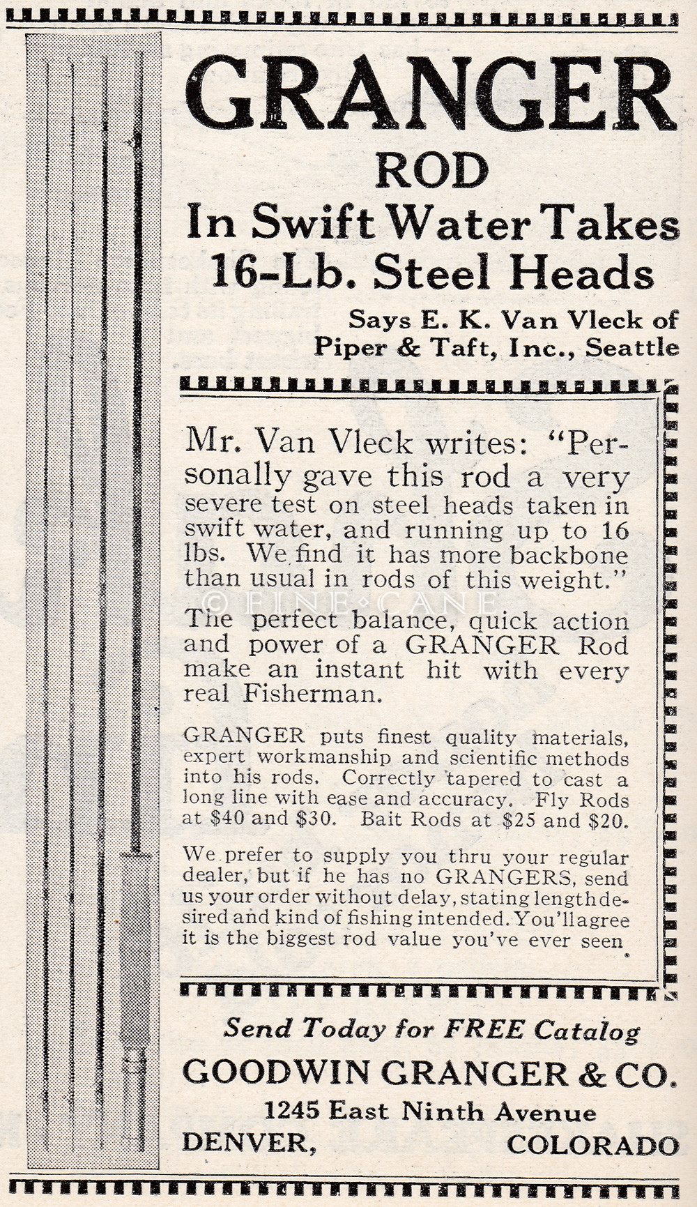 May 1923 Outers Recreation Ad