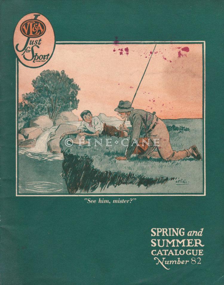 1933 VL&A Catalog Cover