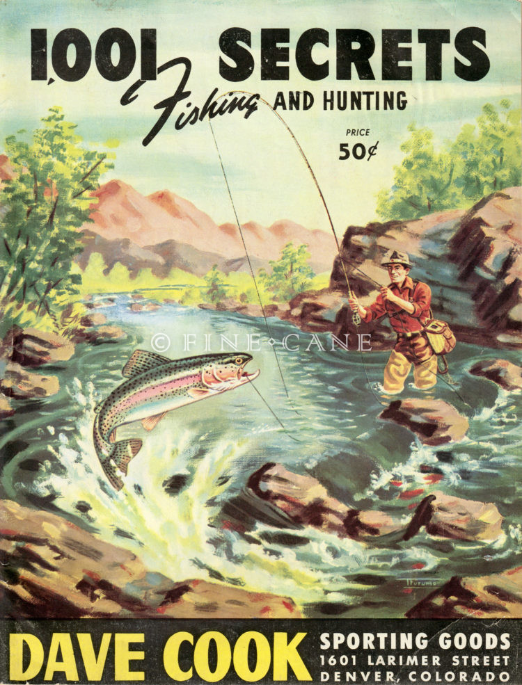 1949 Dave Cook Catalog Cover